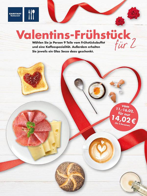 Valentinstag Le Buffet Karstadt Restaurants